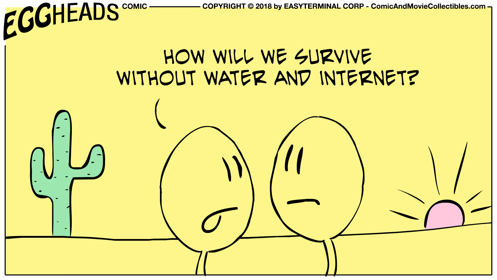 Webcomic Eggheads Comic Strip 015 Survive