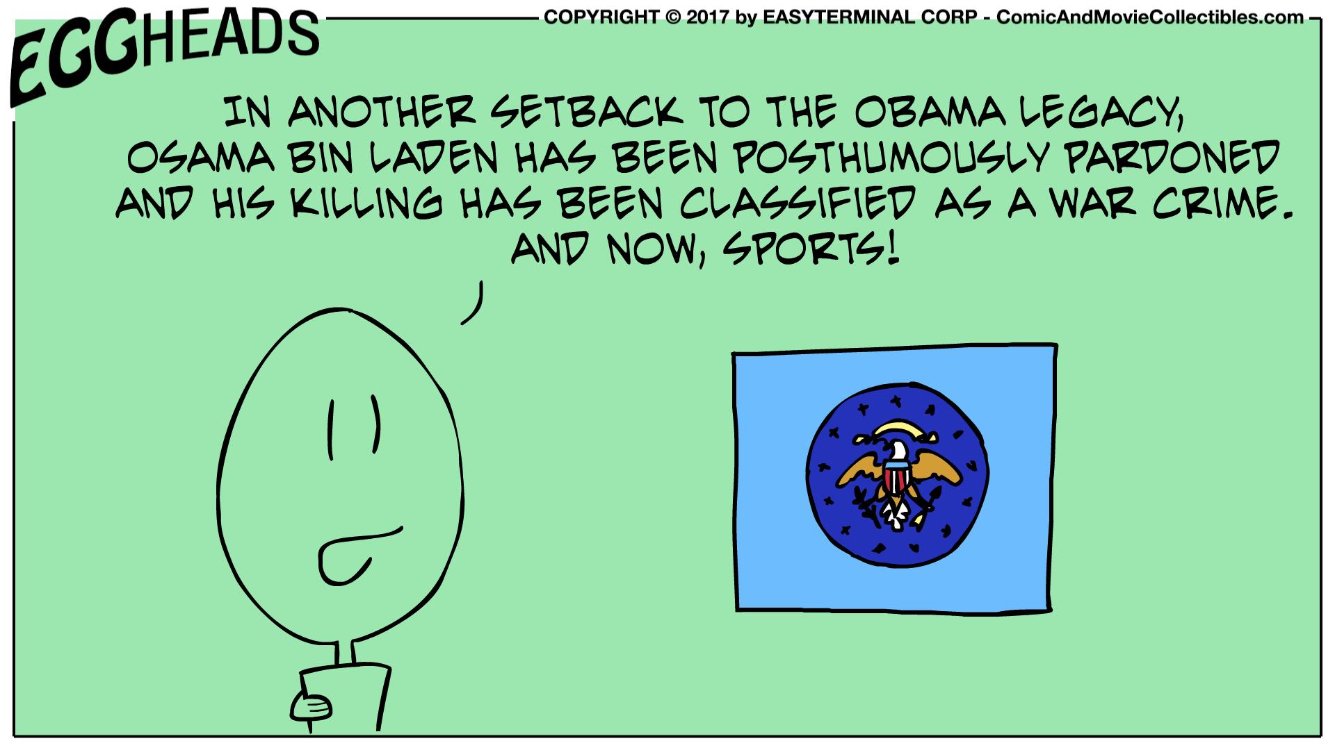 Webcomic Eggheads Comic Strip 017 Osama Bin Laden