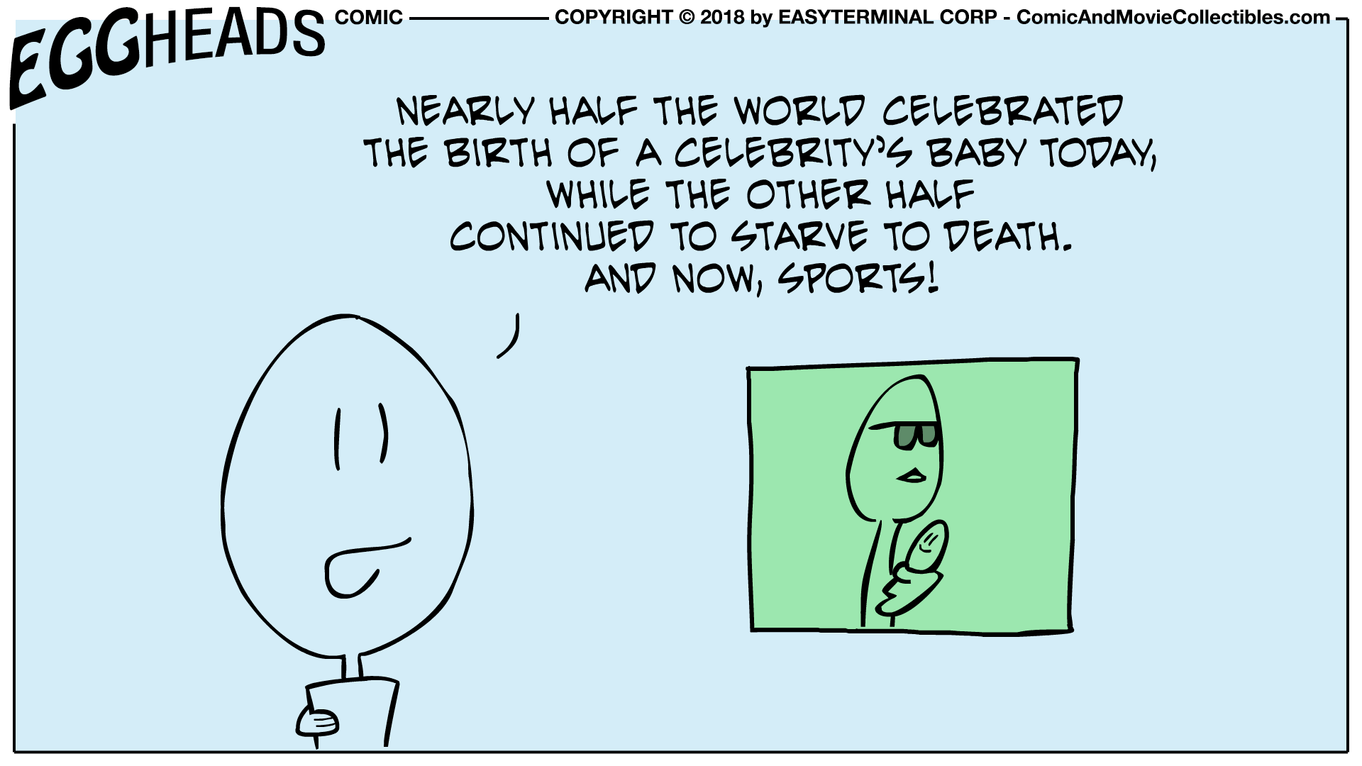 Webcomic Eggheads Comic Strip 022 Half the World