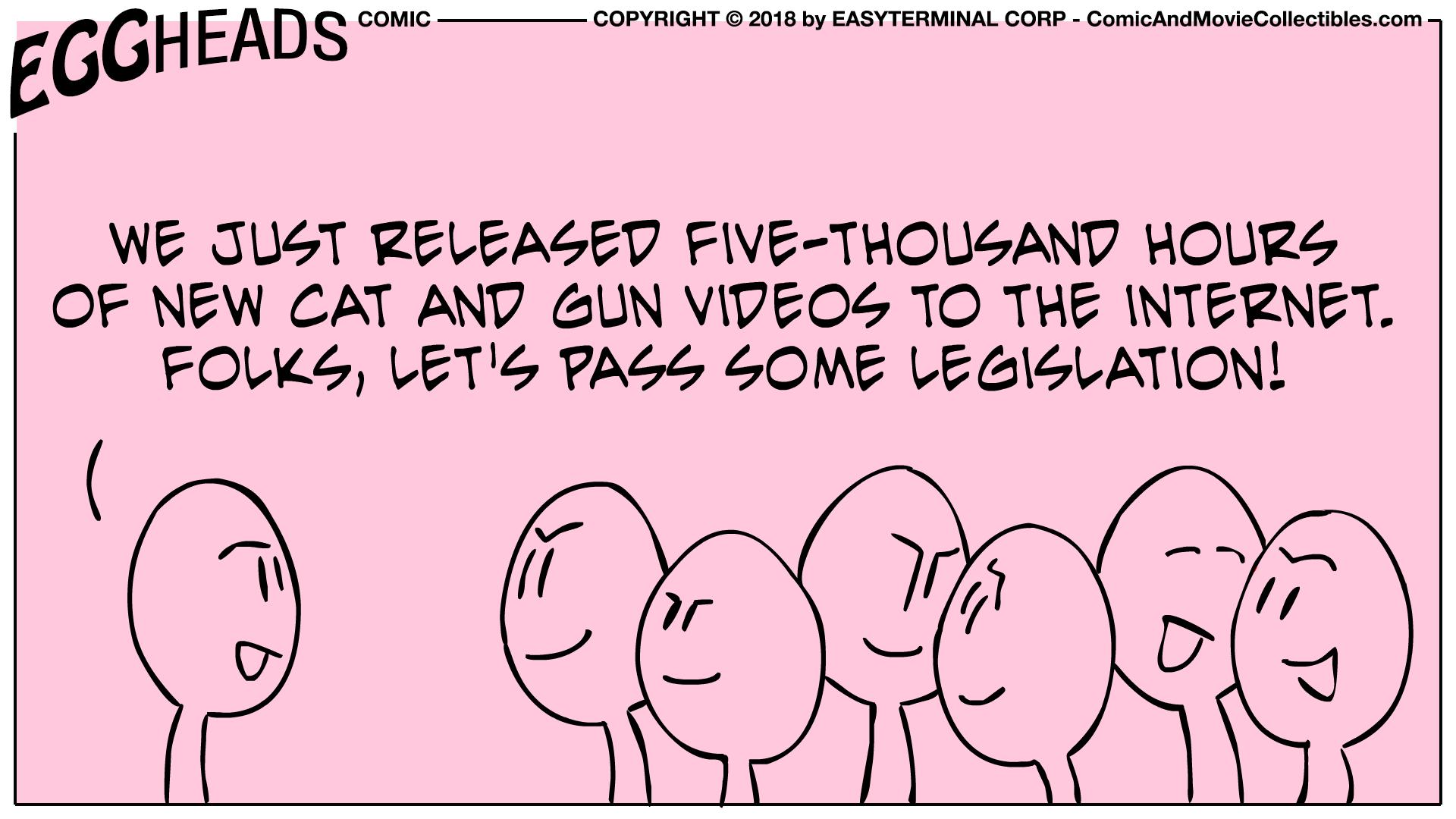 Webcomic Eggheads Comic Strip 026 Five-Thousand Hours