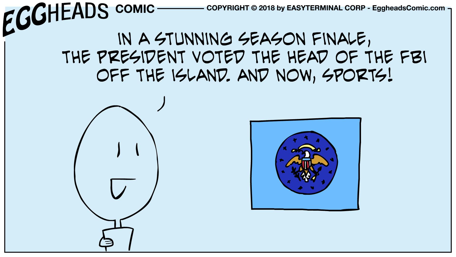 Webcomic Eggheads Comic Strip 037 Season Finale