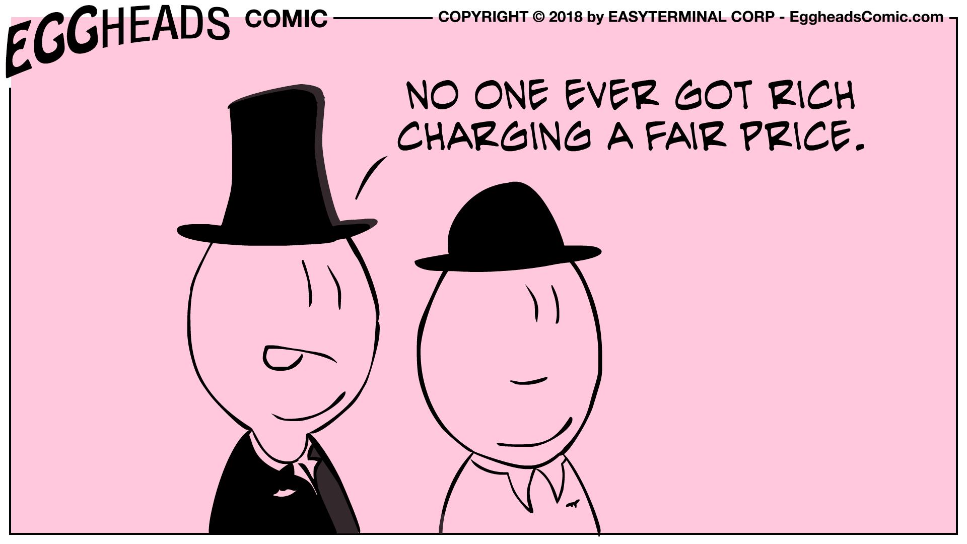 Webcomic Eggheads Comic Strip 039 No One Ever