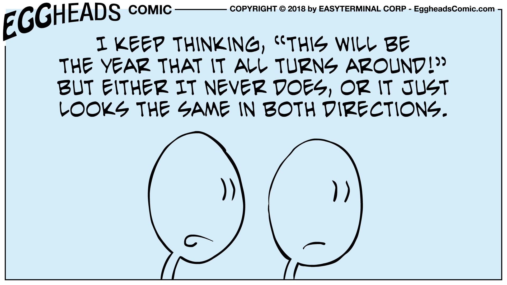 Webcomic Eggheads Comic Strip 043 This Will Be The Year