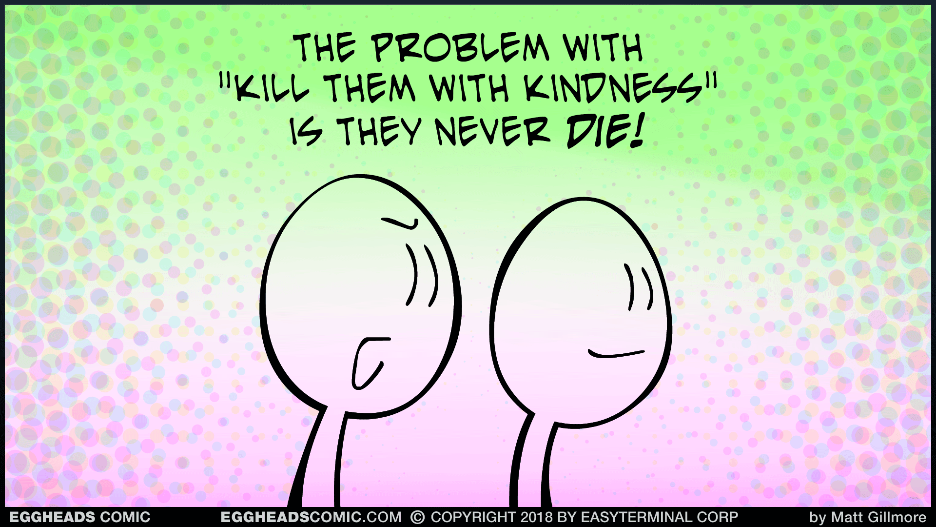 Webcomic Eggheads Comic Strip 049 The Problem With