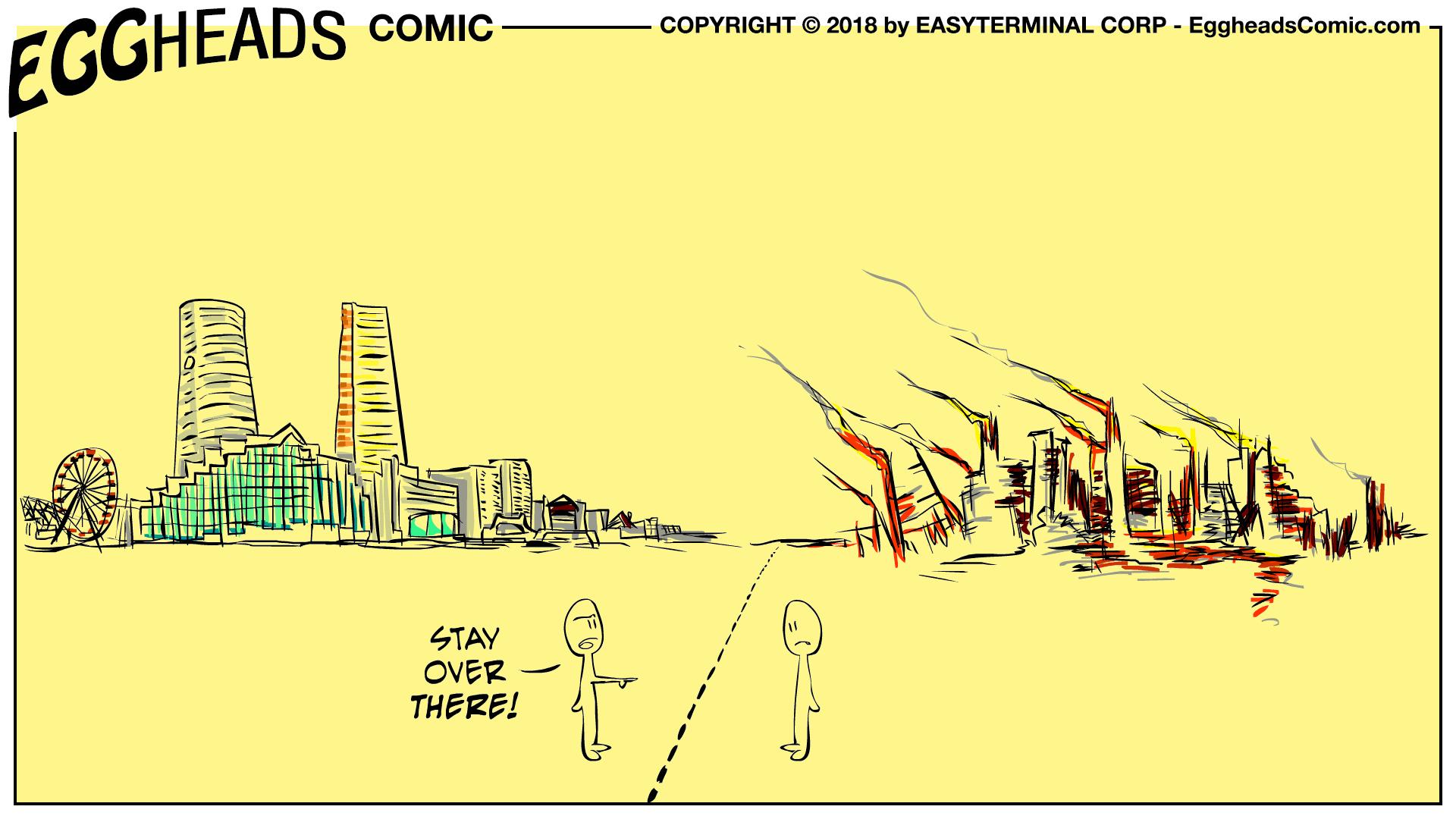 Webcomic Eggheads Comic Strip 071 Borders
