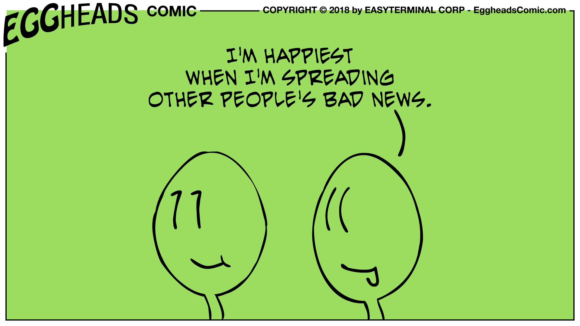 Free Webcomic EggheadsComic.com