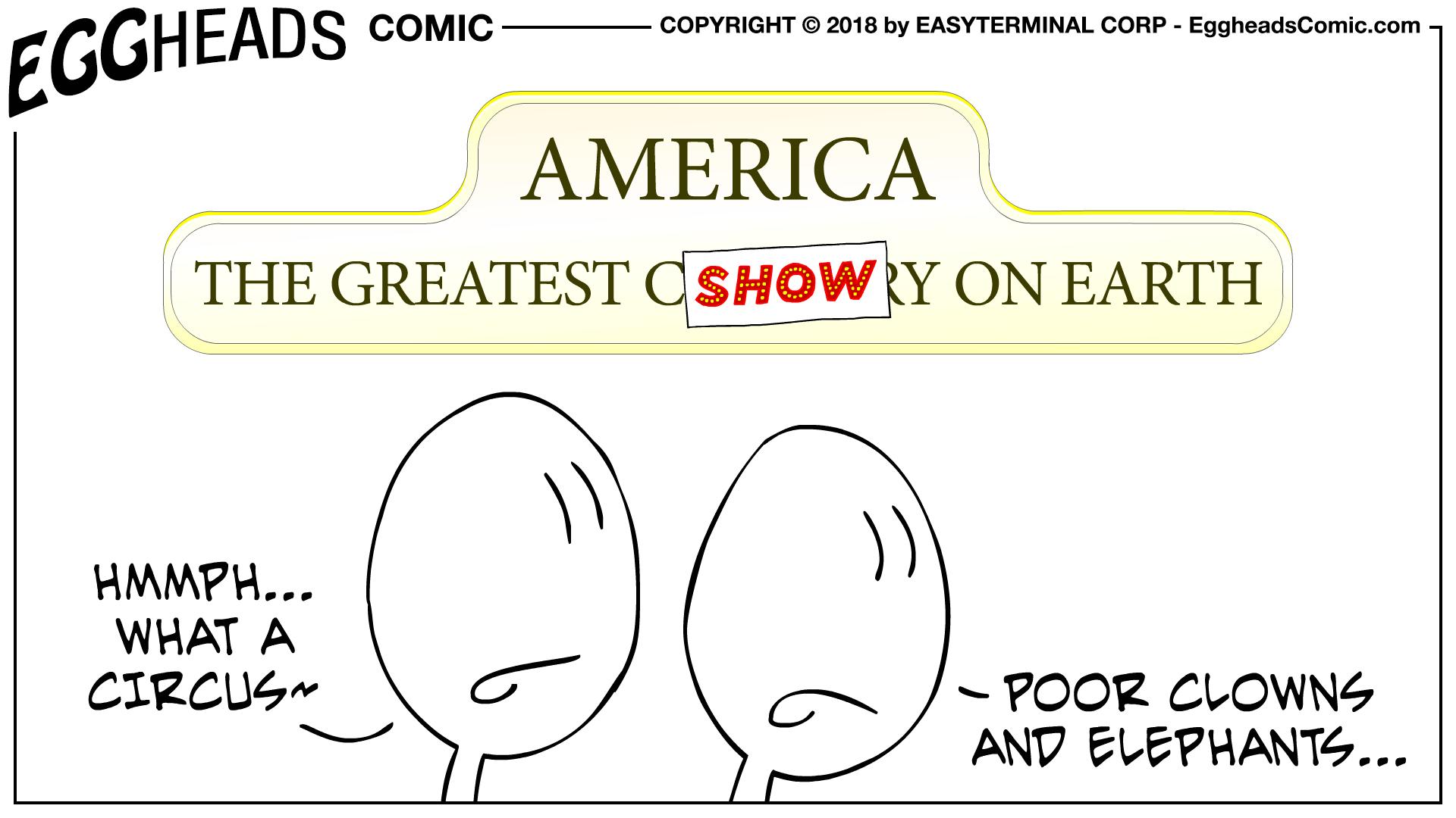 Webcomic Eggheads Comic Strip 094 America