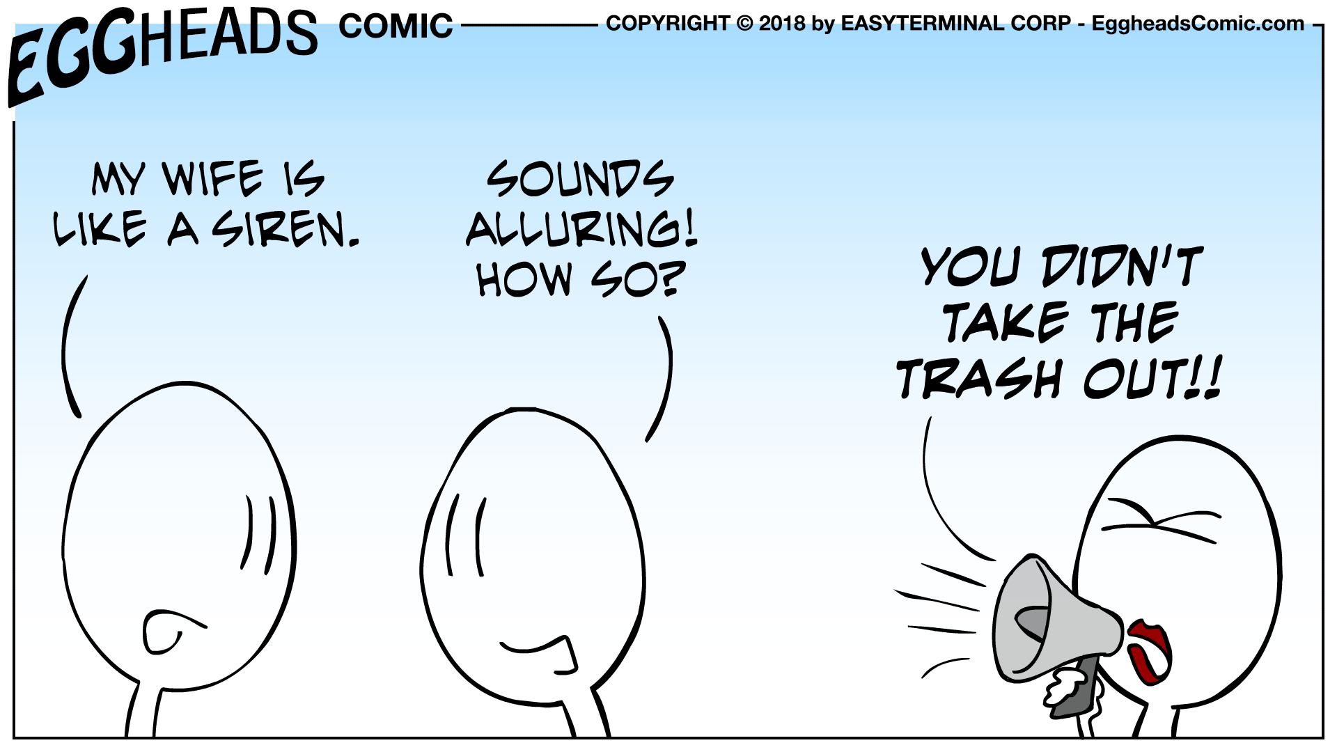 Webcomic Eggheads Comic Strip 099 My Wife
