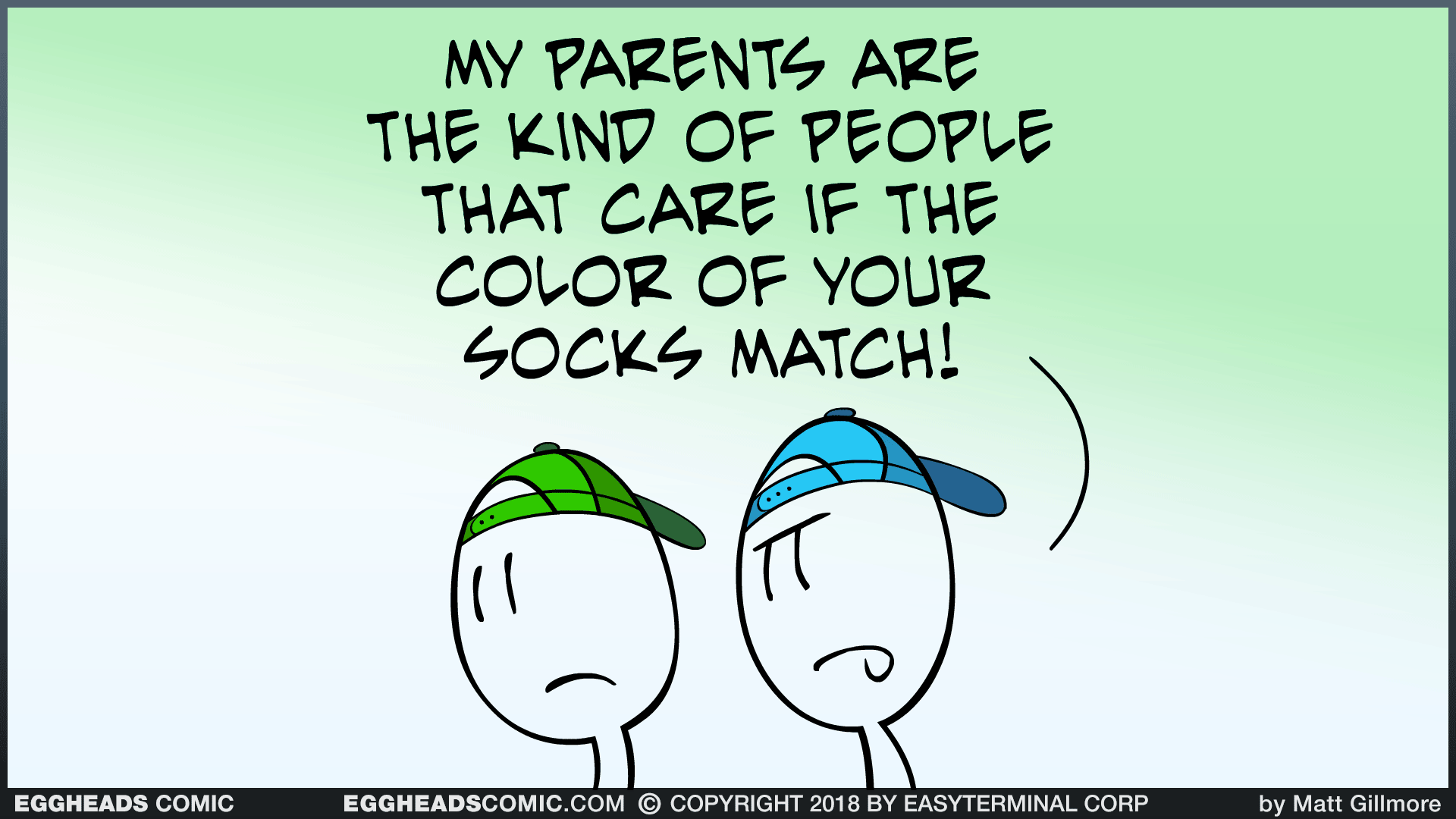 Webcomic Eggheads Comic Strip 115 My Parents