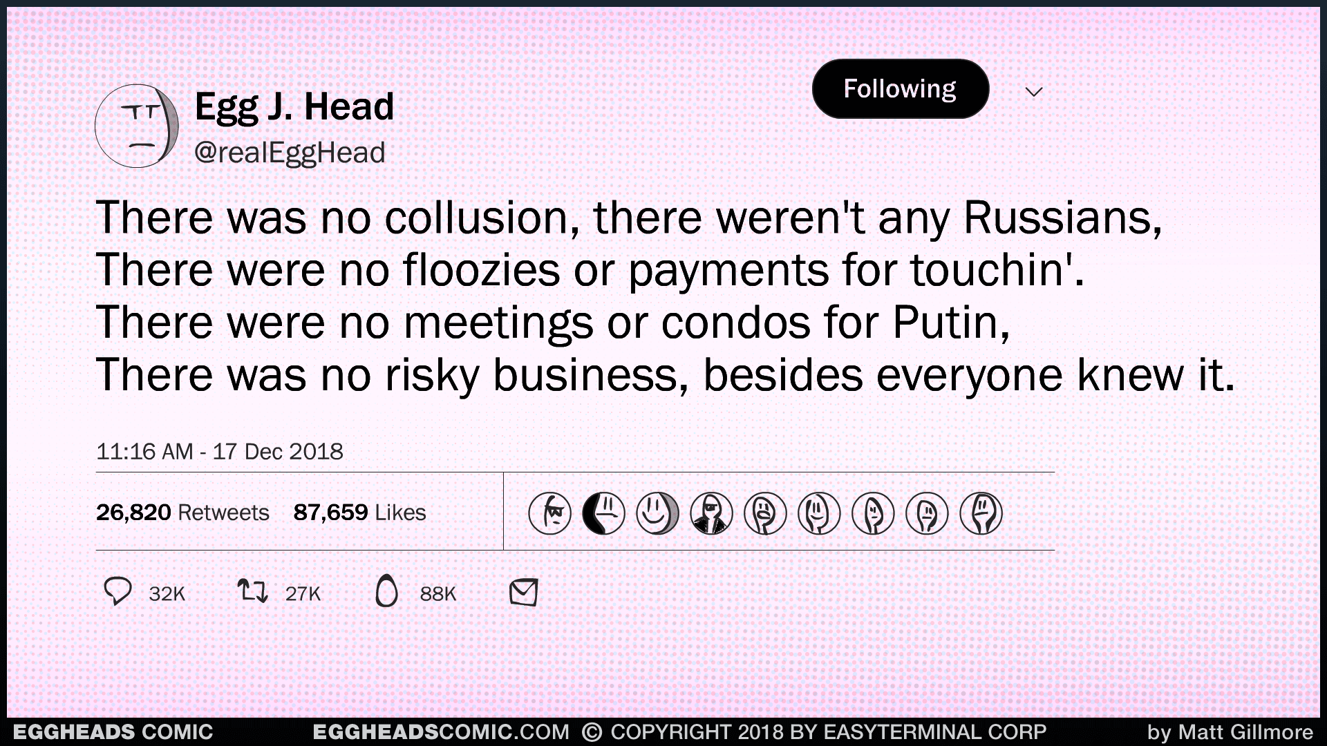 Webcomic Eggheads Comic Strip 136 No Collusion