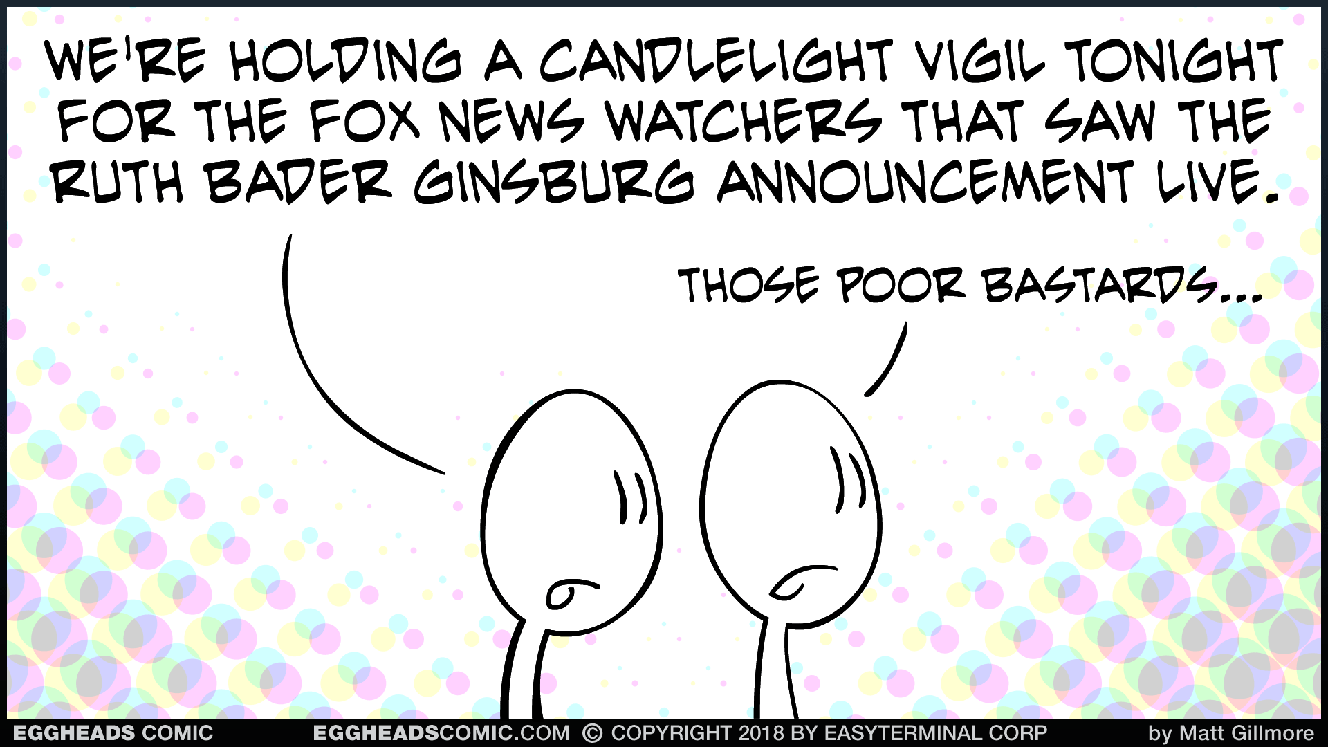 Webcomic Eggheads Comic Strip 143 Candlelight Vigil