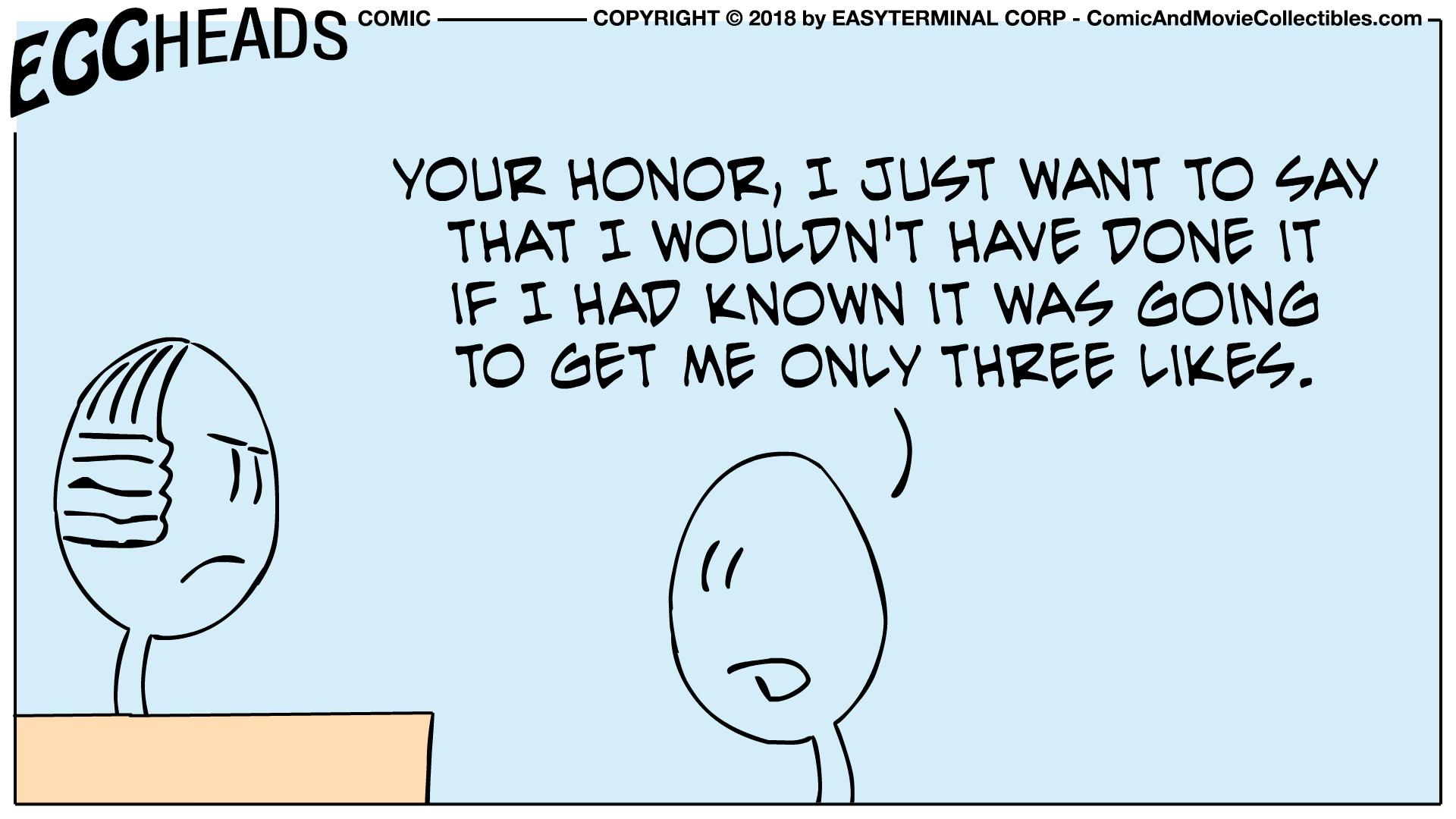 Webcomic Eggheads Comic Strip 010 Your Honor
