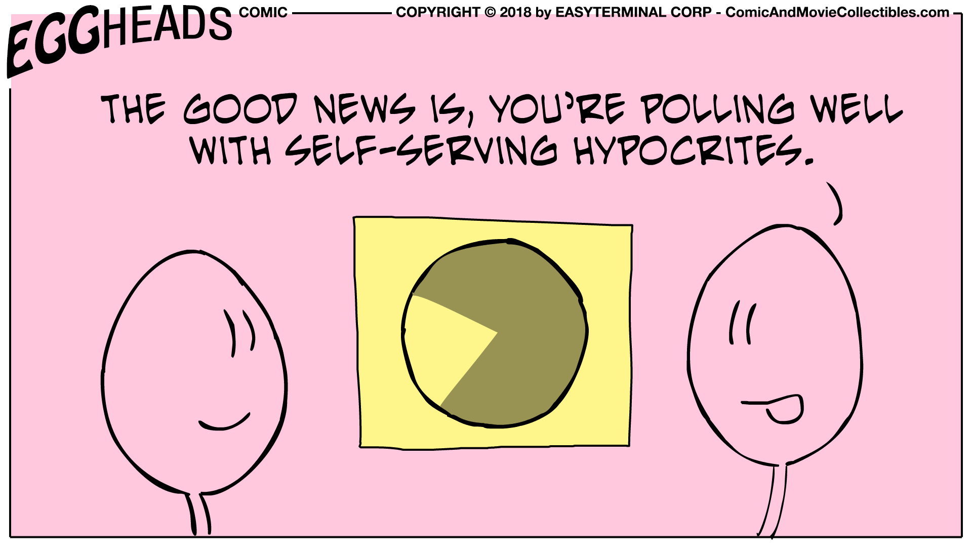 Webcomic Eggheads Comic Strip 007 Polling Well